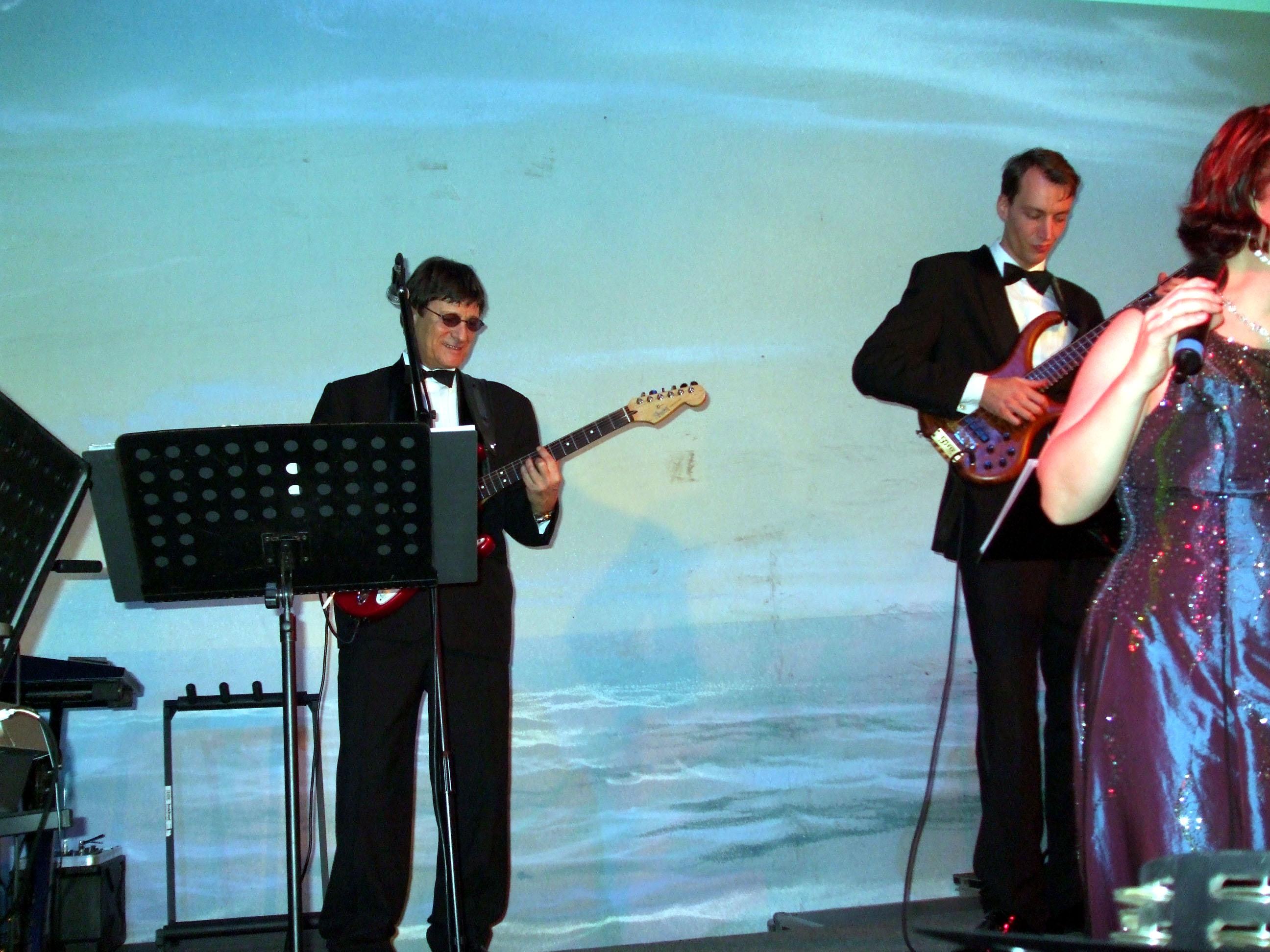 Hochzeitsfeier, Georg Liebecke und Band