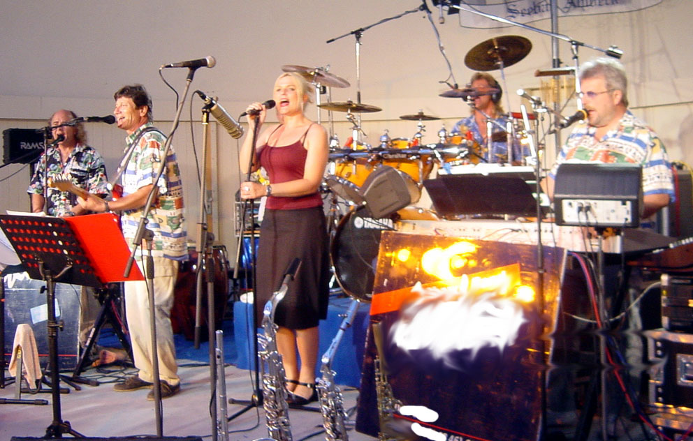 AIDA, Georg Liebecke und Band