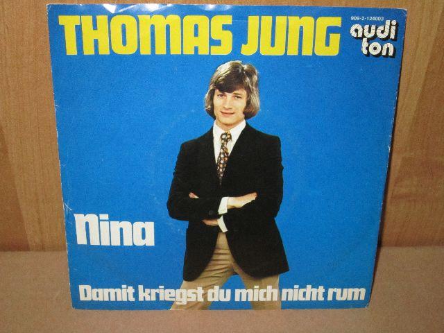 Thomas Jung alias Georg Liebecke Schallplatte